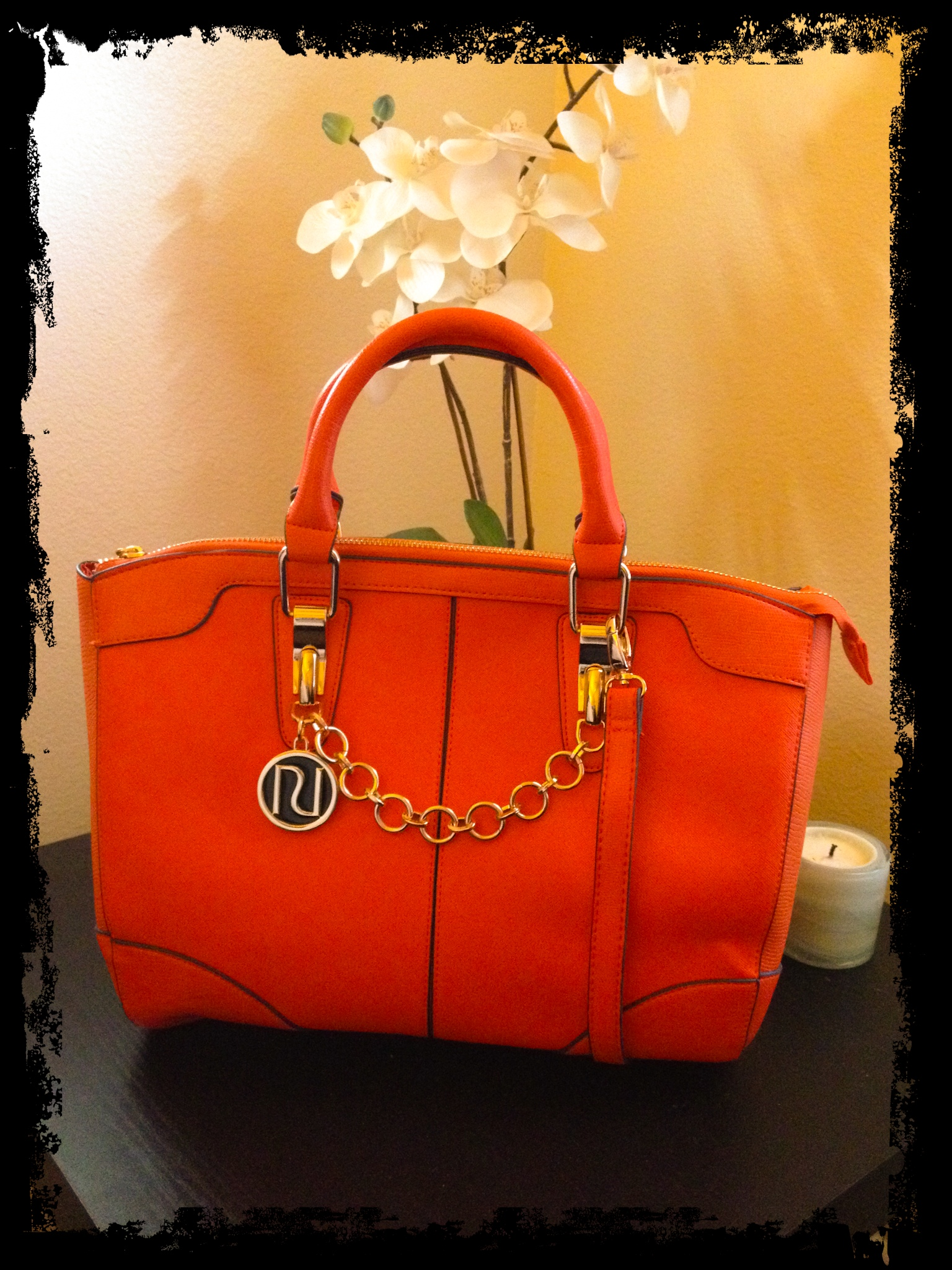 Ping Online Asos I Found This Gorgeous Orange Bowler Bag From River Island